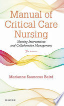 Manual of Critical Care Nursing