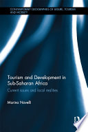 Tourism and Development in Sub Saharan Africa