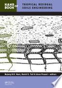 Handbook of Tropical Residual Soils Engineering