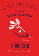 How To Write A Letter : chose just the right thickness of card,...
