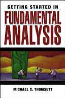 download ebook getting started in fundamental analysis pdf epub
