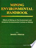 Mining Environmental Handbook