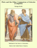 download ebook plato and the other companions of sokrates (complete) pdf epub