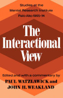 The Interactional View