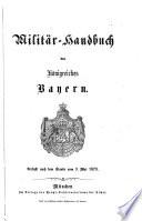 Militär-Handbuch des Königreiches Bayern