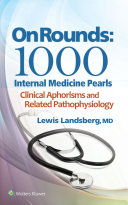 On Rounds  1000 Internal Medicine Pearls