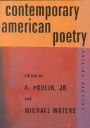 Contemporary American Poetry