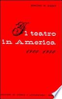 Il teatro in America  1900 1950