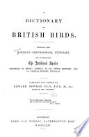 A Dictionary of British Birds
