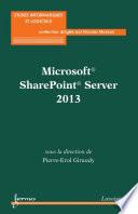 Microsoft   SharePoint   Server 2013