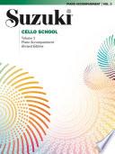 Suzuki Cello School Volume 3 Revised