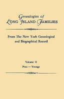 Genealogies Of Long Island Families