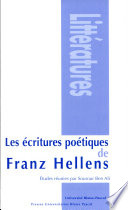 Les   critures po  tiques de Franz Hellens