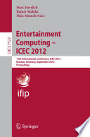 Entertainment Computing   ICEC 2012