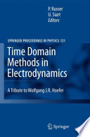 Time Domain Methods in Electrodynamics