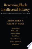 Renewing Black Intellectual History