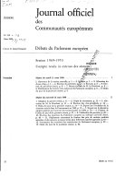 Journal Officiel Des Communaut S Europ Ennes