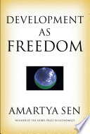 Development As Freedom book