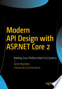 Modern API Design with ASP NET Core 2
