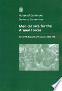 Medical Care for the Armed Forces