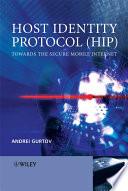 Host Identity Protocol  HIP