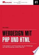 Webdesign mit PHP und HTML