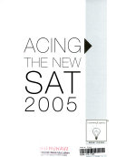 Acing the New SAT 2005