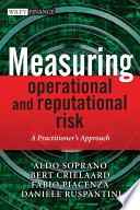 Measuring Operational and Reputational Risk