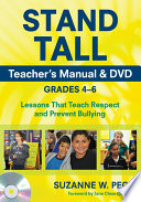 STAND TALL Teacher s Manual   DVD  Grades 4  6