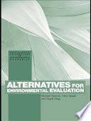 Alternatives for Environmental Valuation