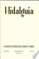 Revista Hidalguía número 207. Año 1988