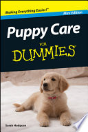 Puppy Care For Dummies   Mini Edition