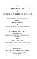 download ebook a dictionary of science, literature, & art pdf epub
