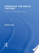 Origins Of The War In The East book