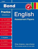 Bond English Assessment Papers 7 8 Years