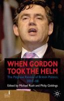Gordon Takes the Helm