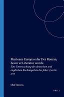 download ebook marteaus europa oder der roman, bevor er literatur wurde pdf epub