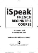 ISpeak French Beginner s Course  MP3 CD   Guide