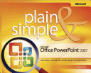 Microsoft   Office PowerPoint   2007 Plain   Simple