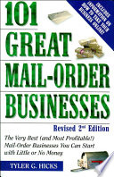 101 Great Mail Order Businesses  Revised 2nd Edition
