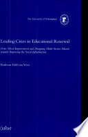 Leading Cities in Educational Renewal