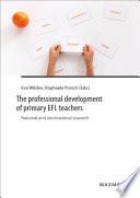 The Professional Development Of Primary Efl Teachers