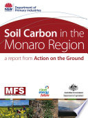 Soil Carbon In The Monaro Region : and developed in september 2007....