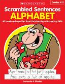 Scrambled Sentences  Alphabet