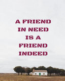 A Friend In Need Is A Friend Indeed : personal details page, index page...