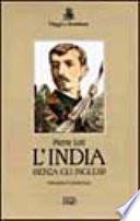 L India  senza gli inglesi