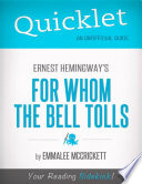 Quicklet on Ernest Hemingway s For Whom the Bell Tolls  CliffsNotes like Summary  Analysis  and Commentary