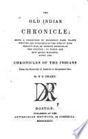 The old Indian chronicle