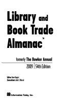Library and Book Trade Almanac 2009