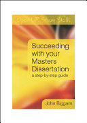 Succeeding with You Master s Dissertation